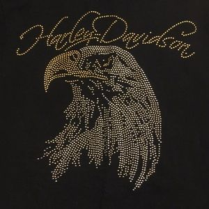 Harley Davidson long sleeve studded shirt